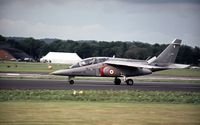 F-ZWRV @ FAB - The third prototype Alpha Jet was demonstrated at the 1974 Farnborough Airshow. It was used for weapons delivery trials and later became serial 40+01. - by Peter Nicholson