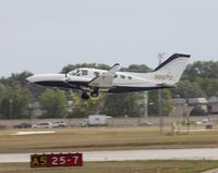 N86PD @ ORL - Cessna 414A - by Florida Metal