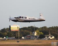 N132MA @ ORL - Mooney M20S - by Florida Metal