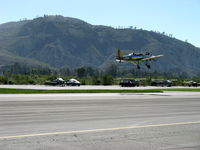 N58651 @ SZP - 1941 Ryan Aeronautical ST-3KR as PT-22, Kinner R5-540-1 160 Hp radial, takeoff climb Rwy 22 - by Doug Robertson