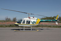 C-GNMT @ CYXJ - VIH Bell 206 - by Andy Graf-VAP