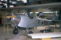 G-AYDY @ EGHP - POPHAM 1985 WILTSHIRE AIRCRAFT HANGER . CURRENTLY IN REPUBLIC OF IRELAND - by BIKE PILOT