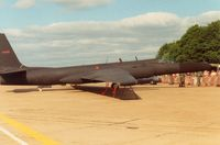 80-1088 @ MHZ - TR-1A of 95th Reconnaissance Squadron/17th Reconnaissance Wing displayed at the 1989 Mildenhall Air Fete. - by Peter Nicholson
