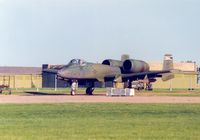 80-0146 @ EGUY - A-10A Thunderbolt of 511th Tactical Fighter Squadron/10th Tactical Fighter Wing on detachment to RAF Wyton in May 1989. - by Peter Nicholson