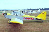 D-MMWA @ EDKB - Dallach Sunrise II  at the Bonn-Hangelar 90-year jubilee-airshow
