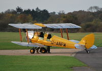 G-ANFM @ EGLM - Tiger Moth at White Waltham - by moxy