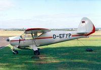 D-EFYP @ EDKB - Pützer Elster C at Bonn-Hangelar airfield - by Ingo Warnecke