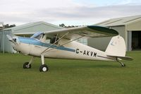 G-AKVM @ FISHBURN - Cessna 120. At Fishburn Airfield, UK in 2007. - by Malcolm Clarke