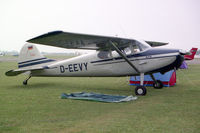 D-EEVY @ EGTC - Cessna 170A. At the 1994 PFA Rally at Cranfield Airport, UK.. - by Malcolm Clarke