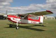 G-ASIT @ X5FB - Cessna 180 at Fishburn Airfield, UK in 2006. - by Malcolm Clarke