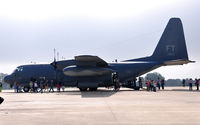 64-14853 @ KRND - 71st RQS HC-130P on static display during Randolph Airshow 09. - by TorchBCT