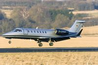 D-CPDR @ EDDR - Silver Bird Learjet 40 - by FBE