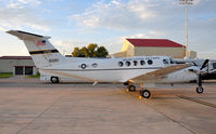 76-0161 @ KRND - Military Super King Air on display during Randolph Airshow 09. - by TorchBCT