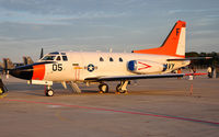 165513 @ KRND - Navy Sabreliner on display during Randolph Airshow 09. - by TorchBCT