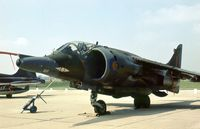 XV757 @ EGXE - Another view of the 1 Squadron Harrier GR.3 on display at the 1978 Leeming Open Day. - by Peter Nicholson