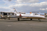 G-TIFF @ EGTC - Cessna 550 Citation II at Cranfield Airport, UK in 1988. Later transferred to the US register. - by Malcolm Clarke