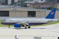 N820UA @ KSAT - departing northbound fron San Antonio IAP - by FBE