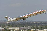 N573AA @ KSAT - departing San Antonio IAP eastbound