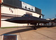 61-7980 @ MHZ - Another view of the SR-71 of Det 4 9th SRW on display at the 1988 Mildenhall Air Fete. - by Peter Nicholson