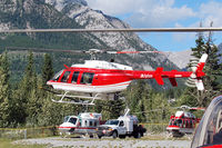 C-GYAA @ CEW9 - Canmore - Municipal Heliport - by Tomas Milosch