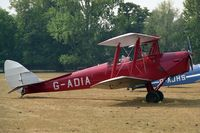 G-ADIA @ WOBURN - De Havilland DH-82A Tiger Moth II.  At the 1995 De Havilland Tiger Moth Rally held in the grounds of Woburn Abbey. - by Malcolm Clarke