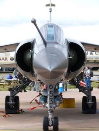 653 @ EGVA - Dassault Mirage F1CR 653/112-CV French Air Force - by Alex Smit