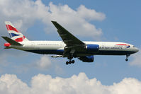 G-YMMC @ EGLL - Short final to 09L at Heathrow. - by MikeP