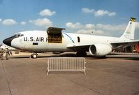 62-3504 @ MHZ - KC-135R Stratotanker of 19th Air Refuelling Wing on display at the 1988 Mildenhall Air Fete. - by Peter Nicholson