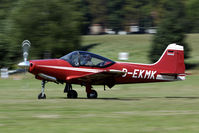 D-EKMK @ EBDT - touch down on the Diest runway - by Joop de Groot