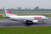 OK-CGJ @ EDDL - Boeing 737-55S [28470] (CSA Czech Airlines) Dusseldorf~D  27/05/2006. Seen departing. - by Ray Barber