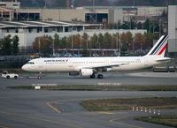 F-GMZD @ LFBO - Third Air France A321 in new modified livery... - by Shunn311