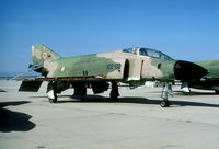 C12-04 @ LETO - In 1993 the F-4C fleet was being stripped of all usable parts for use on the active RF-4C. - by Joop de Groot
