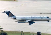 N12539 @ TPA - Continental Airlines DC-9-32 seen at Tampa in November 1994. - by Peter Nicholson
