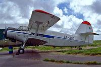 LY-AFO @ EICK - Antonov AN-2R [1G211-42] Cork~EI 25/04/2003. Based here for a while.