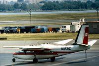 N1159Z @ DCA - Aero Commander 500 seen at Washington National in May 1973. - by Peter Nicholson