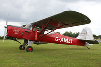 G-AMZI @ EGSX - Visitor to the 2009 Air Britain fly-in. - by MikeP