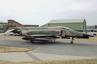 69-7546 @ ETAD - F-4G taxying at Spangdahlem AFB - by FBE