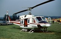 N10VC @ RDG - Bell 212 seen at the 1976 Reading Airshow. - by Peter Nicholson