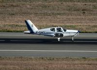 F-GNCL @ LFBO - Landing rwy 14R - by Shunn311