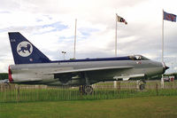XR749 @ EGNV - English Electric Lightning F3 displayed outside Durham Tees Valley Airport, UK. - by Malcolm Clarke