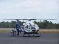 N134AM @ KCEW - GulFlight1 prepares to transport patient - by Chayne Sparagowski_csweather