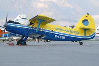 D-FKME @ LOWI - Donau Air Service Antonov 2