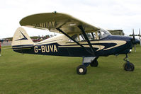 G-BUVA @ EGSX - Visitor to the 2009 Air Britain fly-in. - by MikeP