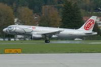 OE-LEU @ LOWI - FlyNiki Airbus A320