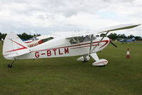 G-BTLM @ EGSX - Visitor to the 2009 Air Britain fly-in. - by MikeP