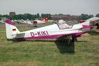 D-KIKI @ EGTC - Fournier RF.3.  At the Popular Flying Association Rally held at Cranfield in 1994. - by Malcolm Clarke