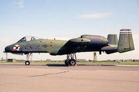 81-0979 @ EGXW - Fairchild OA-10A Thunderbolt II at RAF Waddington in 1990. - by Malcolm Clarke