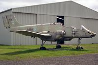 A-528 @ USWORTH - FMA IA-58A Pucara at the North East Aircraft Museum, Usworth, UK in 1994. - by Malcolm Clarke