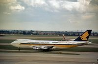 9V-SQG @ LHR - Singapore Airlines Boeing 747-212B seen at Heathrow in the Summer of 1979. - by Peter Nicholson