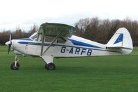 G-ARFB @ EGBD - Piper PA22-150 Carribean at Derby Eggington